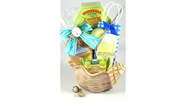 Amazon.com : Seashells in the Sunshine Ocean Theme Gourmet Gift Basket | Gift for the Beach Lover : Gourmet Snacks And Hors Doeuvres Gifts : Grocery ...