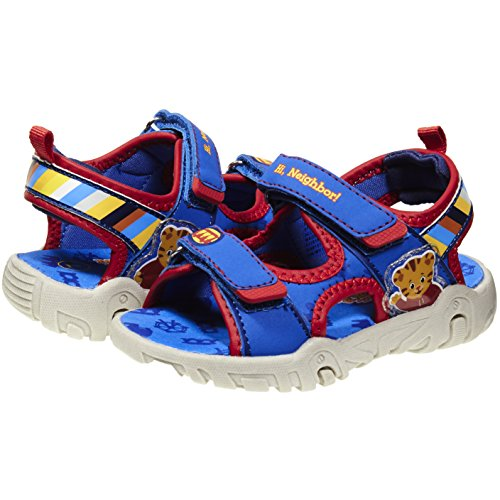 (Daniel Tiger Blue Colored Boys TPR Sole Sandals, Available in for Kids (9B, Blue))