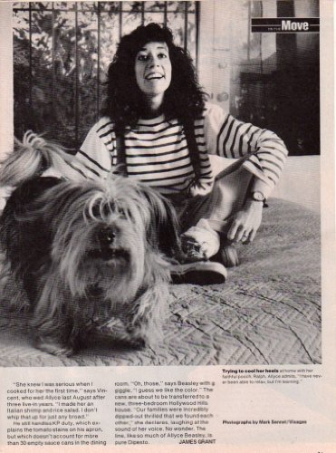 Allyce Beasley Creative clipping Magazine photo 2page 8x10 size Z4113