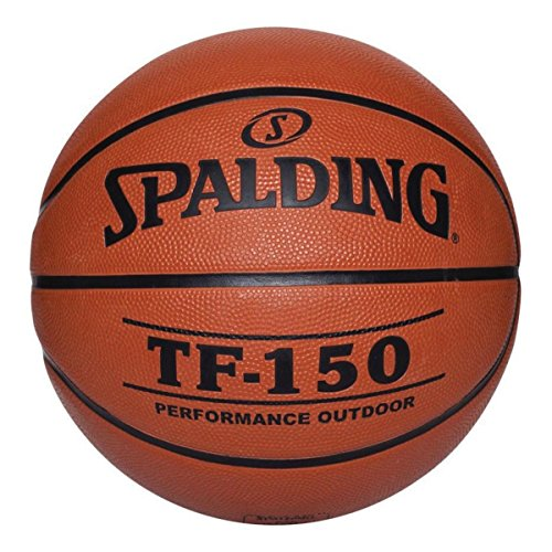 Spalding 73-7618 Junior Rubber Basketball, 27-1/2″ Size