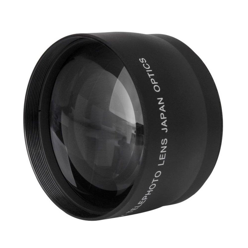 TOOGOO ( R ) 52 mm 2.0 X HD望遠ズームレンズfor Canon Nikon Sony Pentax 52 MMデジタル一眼レフカメラ   B018HX0BTQ