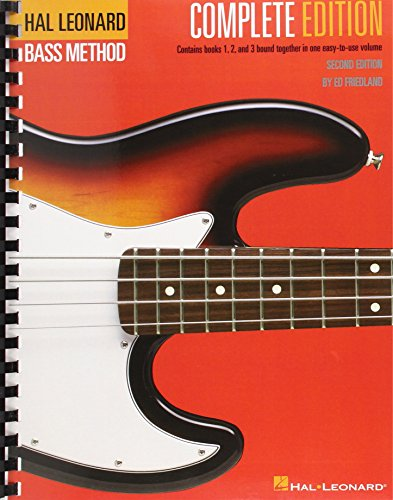 (Hal Leonard Electric Bass Method - Complete Edition: Contains Books 1, 2, and 3 Bound Together in One Easy-to-Use Volume (Hal Leonard Bass Method))