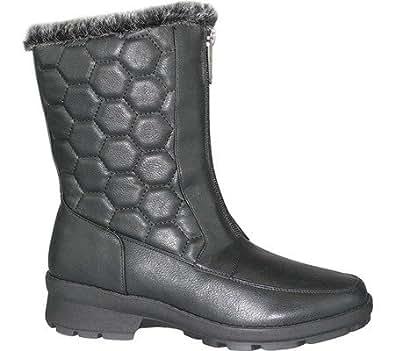 Amazon.com | Toe Warmers Women's Kelly Winter Boot | Mid-Calf