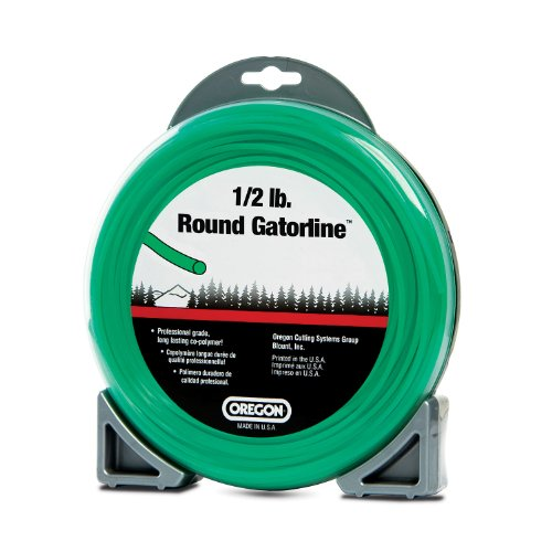 Oregon 21-230 Gatorline 1/2-Pound Coil of .130-Inch-by-76-Foot Round String Trimmer Line