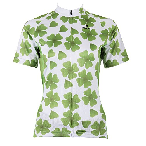 qinying-outdoor-breathable-women-short-sleeve-four-leaf-clover-cycling-jersey-3xl