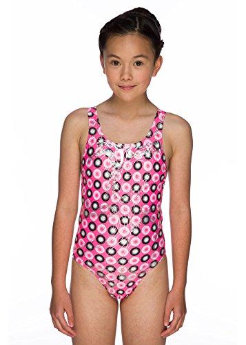 Maru Swimming Costume (Maru Junior Holographic Sparkle Auto Back Swimming Costume (Size 32