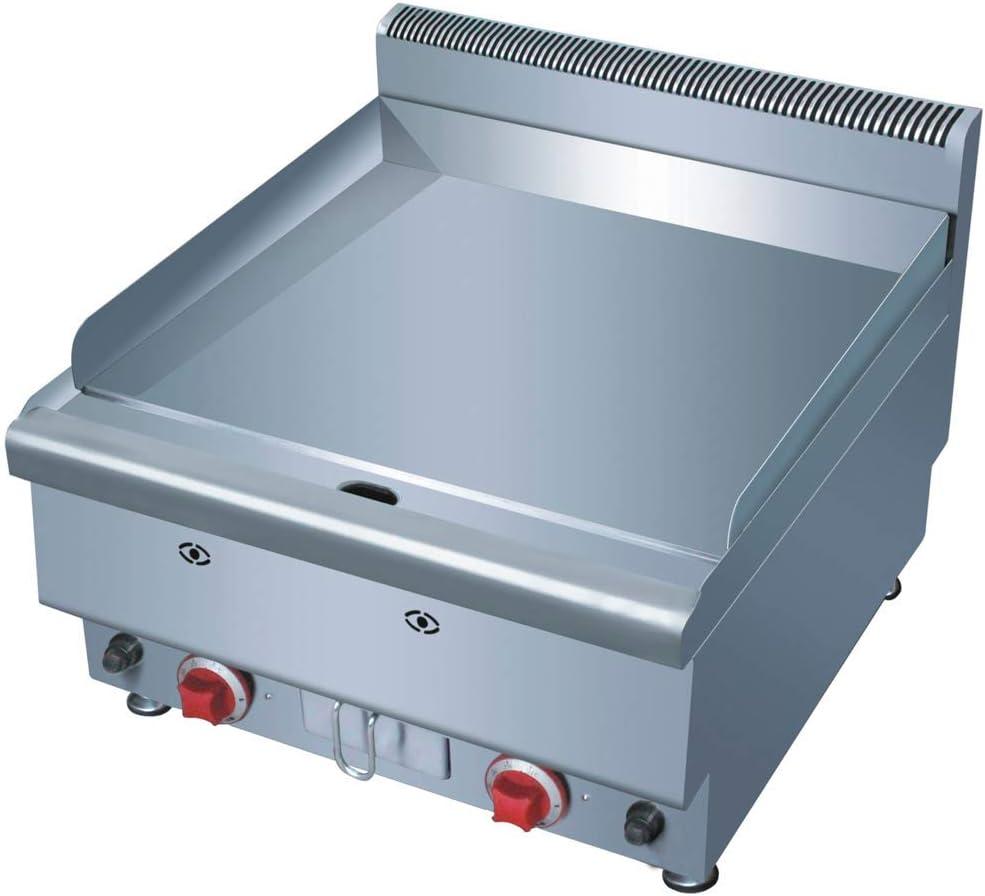 Plancha fry-top industrial cromo duro gas 60 - Maquinaria Bar Hostelería