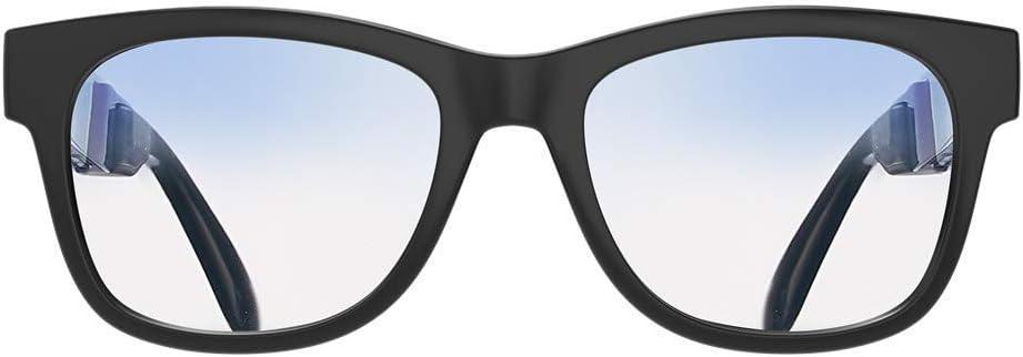VocalSkull Gafas de Sol Polarizadas con Auriculares Bluetooth de Conducción Ósea Auriculares Inalámbricas Manos Libres Estéreo Music Auriculares con Micrófono (Luz Anti-Azul)