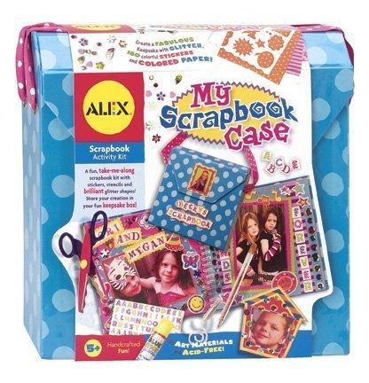 ALEX Toys Craft My Scrapbook Case