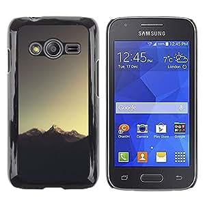 iKiki Tech / Estuche rígido - Sugerencia Montaña - Samsung Galaxy Ace 4