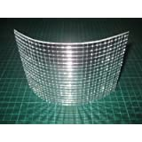My Furniture Silver Mirrored Mirror Bevelled Wall Tiles