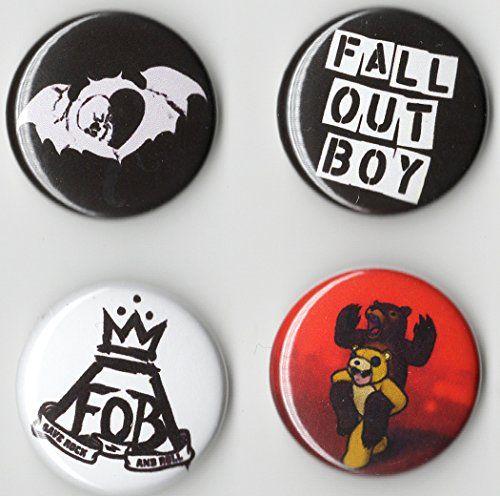 Fall Out BOY Button Set 4 Pack (1