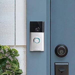 ring video doorbell video t rklingel 720p hd video gegensprechfunktion bewegungsmelder und. Black Bedroom Furniture Sets. Home Design Ideas