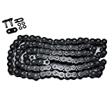 Max Motosports 520 Pitch 150 Links 520x150 O-Ring Drive Chain for Custom Extended Swingarm Motorcycles (Black)