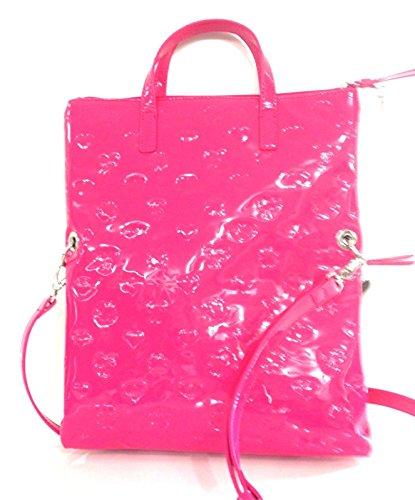 Borsa Removibile Fuxia Con Shopper Bs14tw50 In set Donna Tasca Vernice Twin ZfxrwpZzq