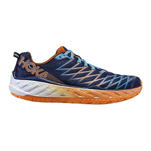 One nbsp;Shoes M Hoka Men Clayton medieval Clayton orange M persimmon blue Men 2 2 wqn6a6IFd