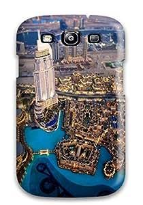 First-class For LG G3 Case Cover Dual Protection Cityscapes Dubai Burj Al Khalifa