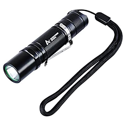 LED Flashlight Cree XPG-R5 White with 3 Mode Handheld Torch Light Lamp Water Resistant for Hiking Traveling Camping