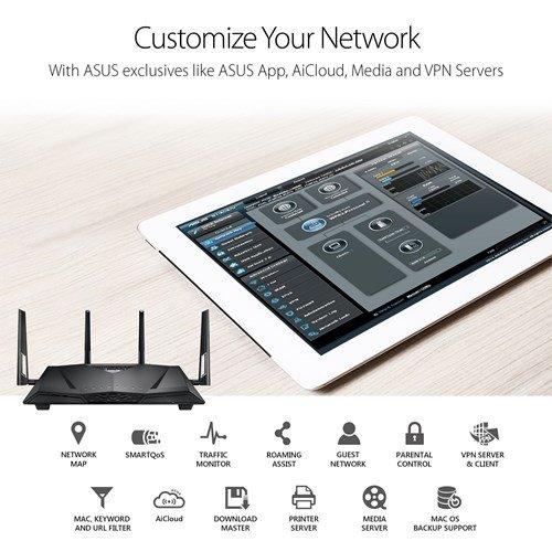 ASUS CM-32 Cable Modem Wifi Router (AC2600, 32x8) DOCSIS 3