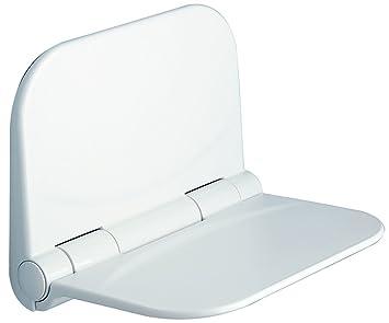 Sedile ribaltabile per doccia dino bianco gedy: amazon.it: fai da te