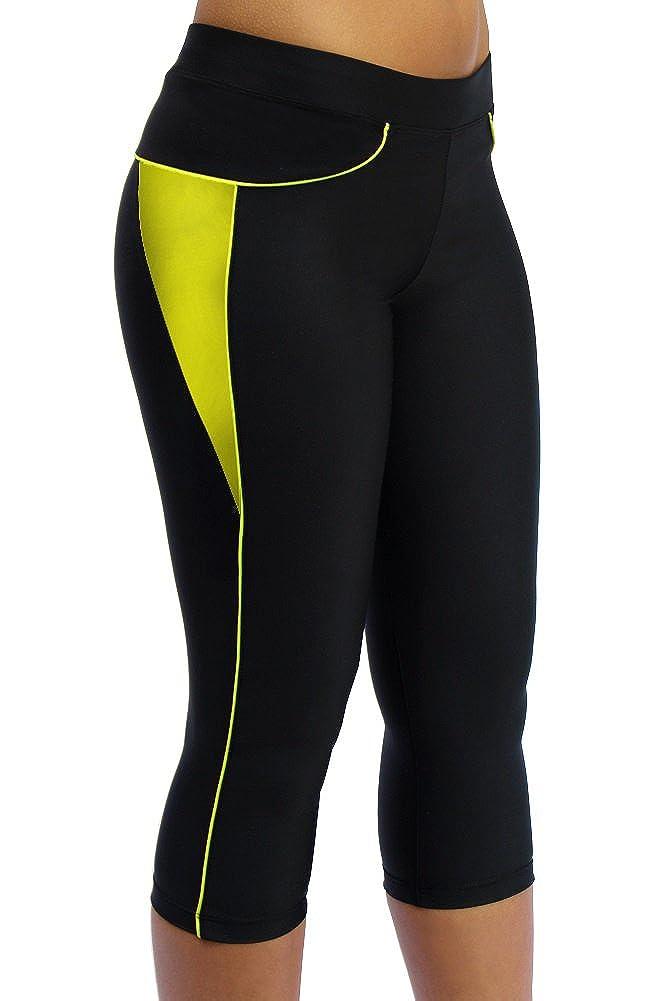 ScudoPro Capri Legging Knicker Padded Cycling Pant for Women 3//4 Scudo Sports Wear