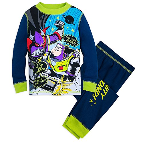Disney Toy Story Glow-in-The-Dark PJ PALS Set for Boys Size 5 Multi