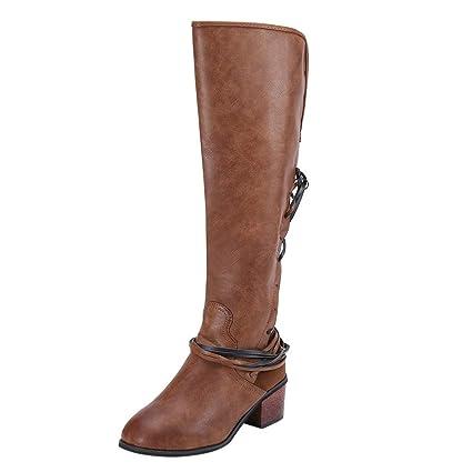0702c31d553 Amazon.com  Winter Snow Boots for Women Wide Calf Knee High Boot ...