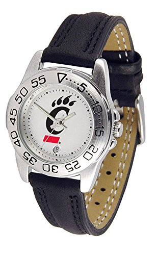 Cincinnati Bearcats Women's Leather Band Athletic Watch