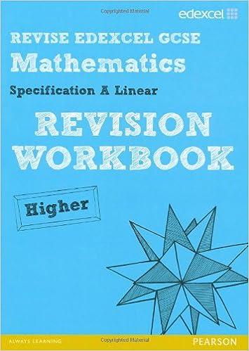 Revise Edexcel GCSE Mathematics Spec A Linear Revision Workbook ...