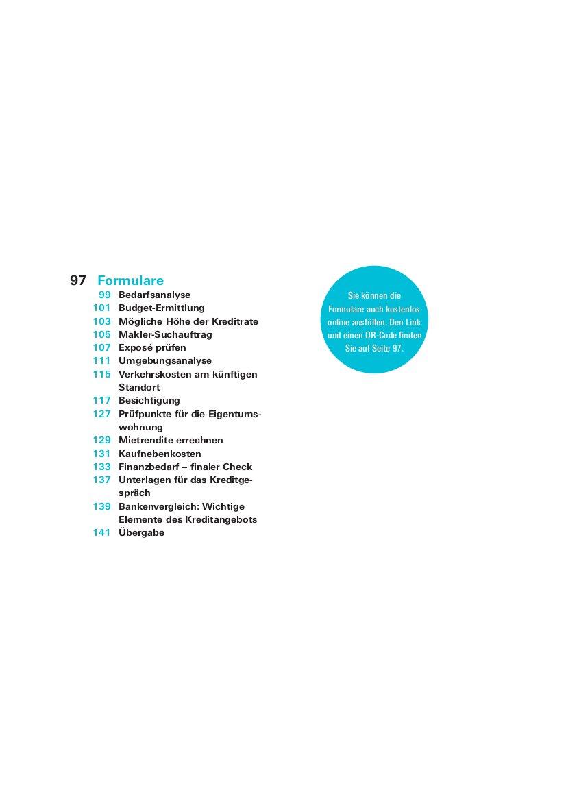 Das Immobilien-Set: Bedarfsanalyse, Besichtigungscheckliste ...