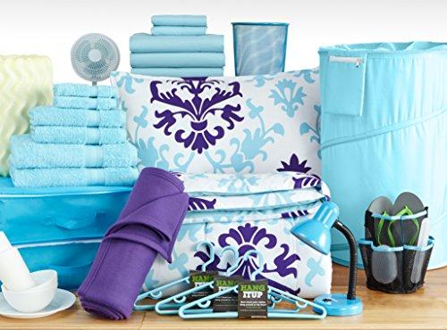 Dorm It Up - The Good Life Set - Twin XL College Dorm Room Bedding (Queen B)