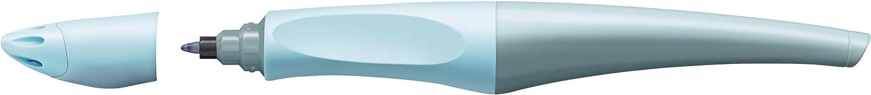 inklusive 2 Aufkleberkarten zum Sammeln STABILO FUN in babyblau//eisblau Schreibfarbe blau /& Patrone zum Nachf/üllen STABILO EASYoriginal Refill 6er Pack Ergonomischer Tintenroller