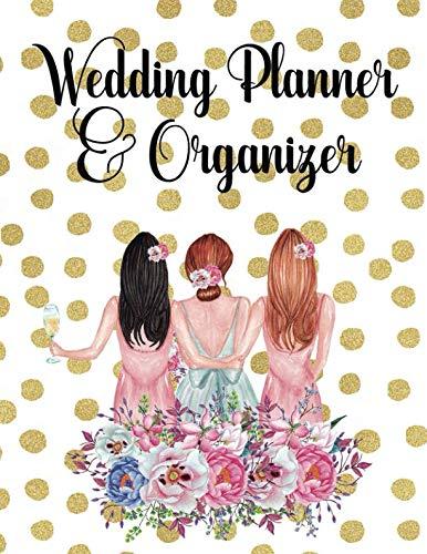 Wedding Planner & Organizer: Wedding Planner Organizer Checklist Journal Notebook for Newly Engaged Couple Dots