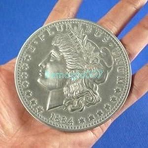 3 Inches Jumbo Morgan Coin - Coin&Money Magic