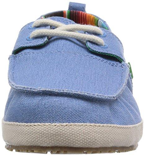 Sanuk de hombre Admiral Boat Shoe Blue