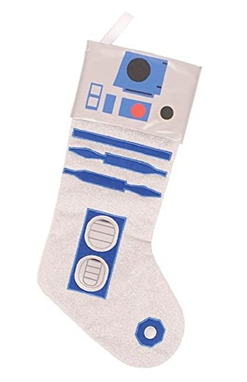 Amazon.com: Star Wars R2d2 Christmas Stocking 18 Inch: Home & Kitchen