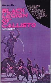 Black legion of Callisto de Lin Carter
