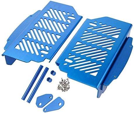 LIWENCUI- ハスクバーナのためのラジエーターグリルガードプロテクターカバー (Color : Blue)