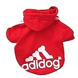 Best Dog Outfits - Fleece Dog Hoodies,Rdc Pet Apparel, Adidog Basic Hoodie Review