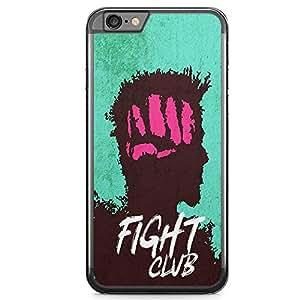 Loud Universe Punch Bradd Pitt iPhone 6 Plus Case with Transparent Edges Fight Club Phone Case