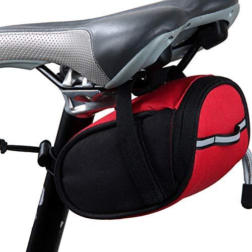 ZAIYI-Bike Bags Deportes Y Aire Libre,Bolso De La Cola De La Bicicleta Bolso De La Silla De Montar Equipo del Bolso del...