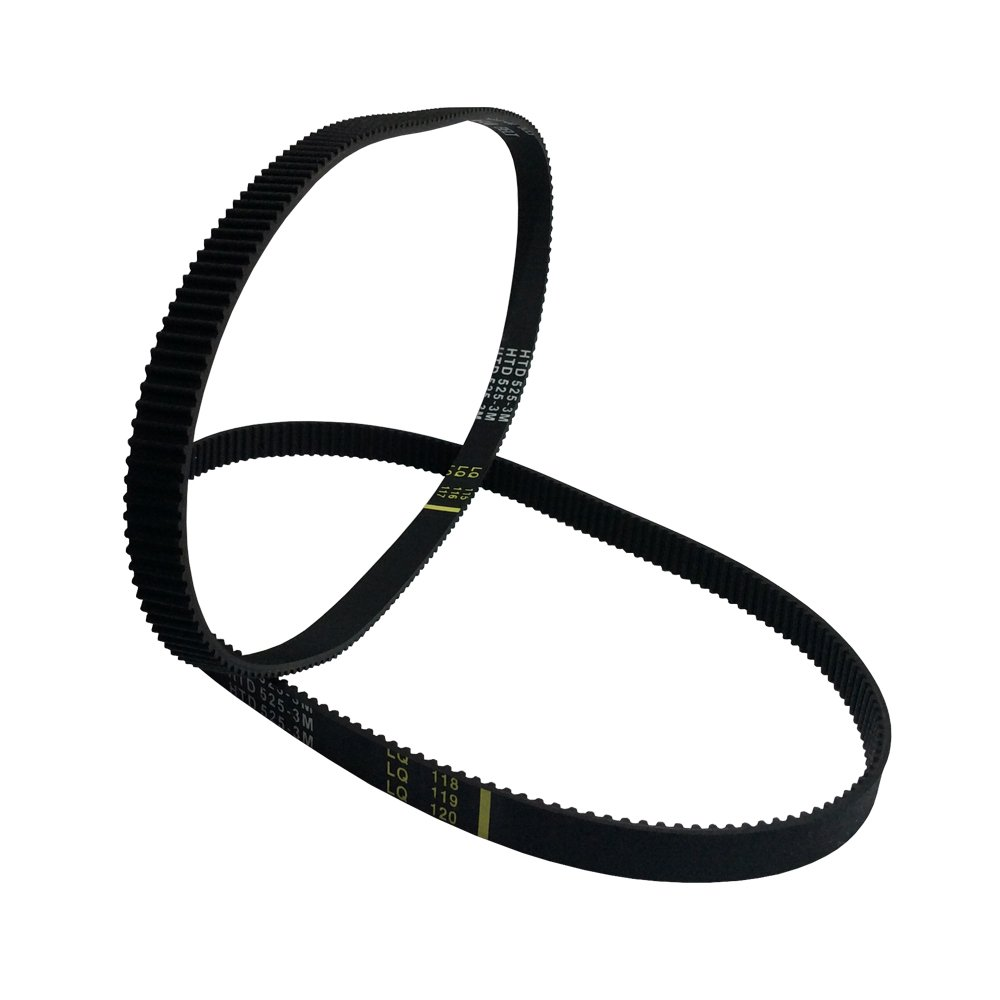 HTD3M-225 Synchronous Wheel Timing Belt 10mm 15mm Width Pitch-3mm Teeth-75