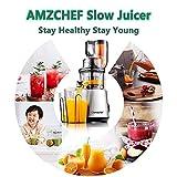 Juicer Machines AMZCHEF Slow Juicer Slow
