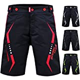Bike bicycle Mtb mountain bikes bike shots cycle gear bike accessories cycling clothing road bike cycling shorts cycle bike store bike gear cycling Super shorts (Black Red, X-Large)