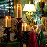 Yinuo Mirror LED Flameless Candles, Battery