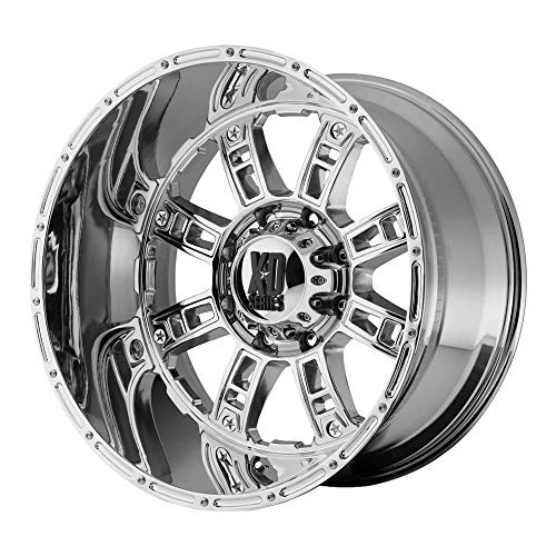 XD SERIES BY KMC WHEELS RIOT CHROME RIOT 20x10 5x150.00 CHROME (-24 mm)