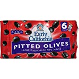 Early California 6 oz. Ripe Pitted Large Black