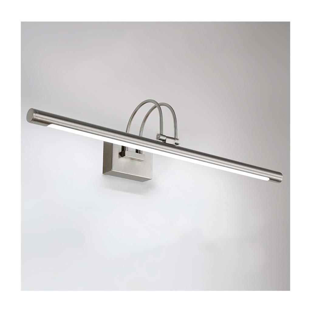 &Spiegelleuchte LED Spiegel Scheinwerfer, Wasserdicht Und Anti-fog Badezimmerspiegelschrank Lampe Retro Bad Schminktisch Spiegellampe (Farbe   Neutrales Licht-80CM 12W)