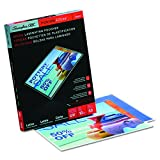GBC HeatSeal LongLife Thermal Laminating Pouches, Letter Size, 10 mm Thickness, 11.5 x 9 -Inches, Clear, 50 Pouches per Pack (3200599)