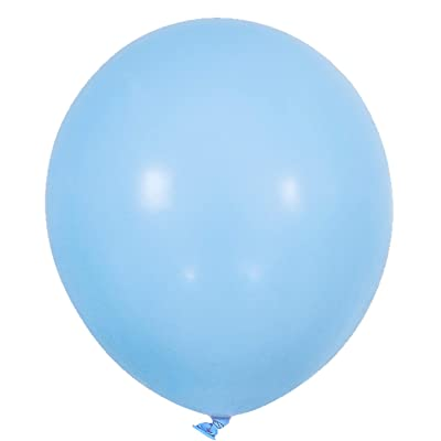 PartyWoo Blue Balloons 50 pcs 12 Inch Light Blue Balloons: Health & Personal Care